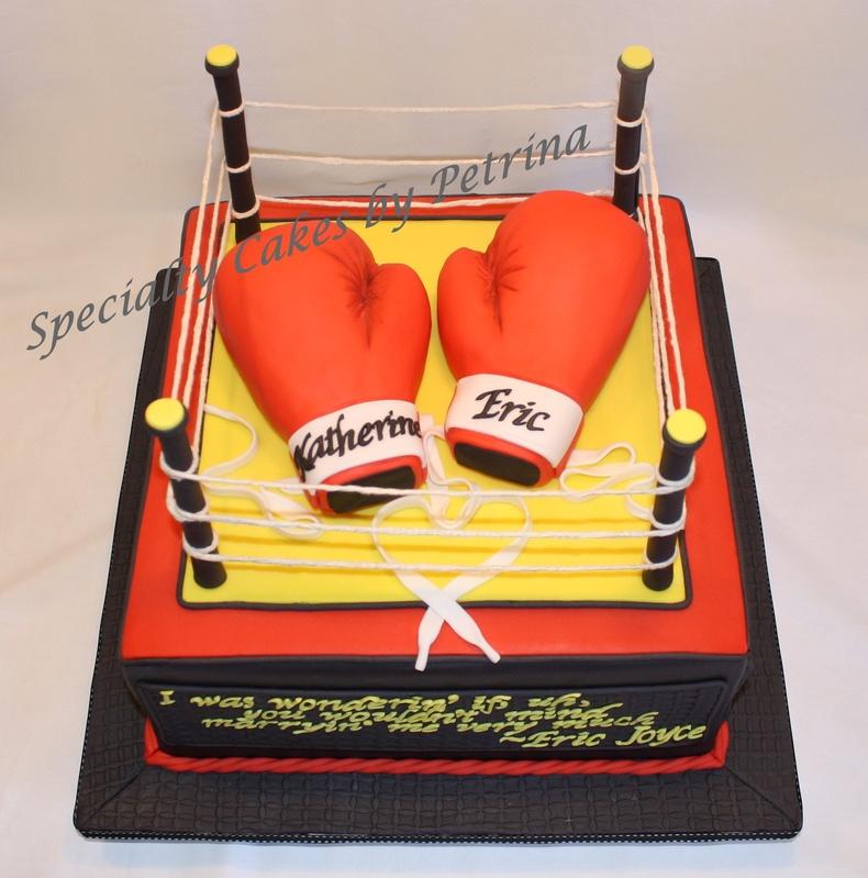 Boxing Ring Cake Images