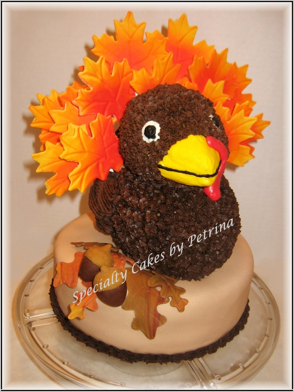 Thanksgiving Turkey Cake - Specialty Cakes by Petrina, LLC